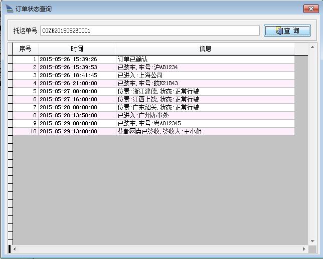 维枭TMS运输管理软件结构图